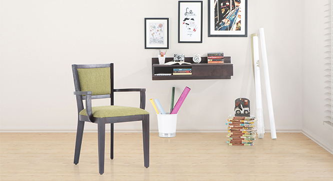 WOODBINE STUDY SETS WITH CHAIR (Finish-Walnut)