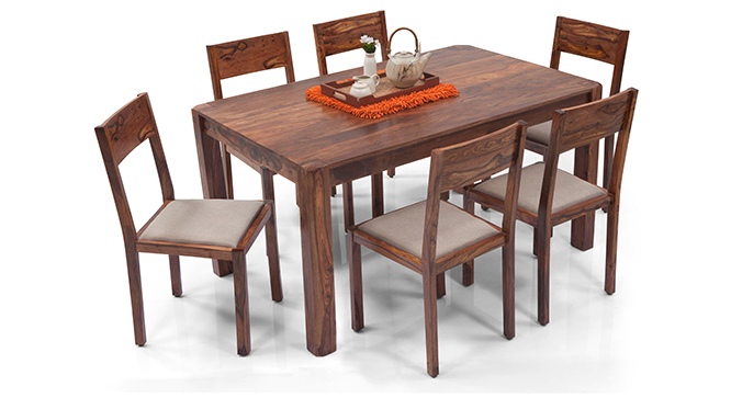 Dicsal 6 Seater Dining Table Set