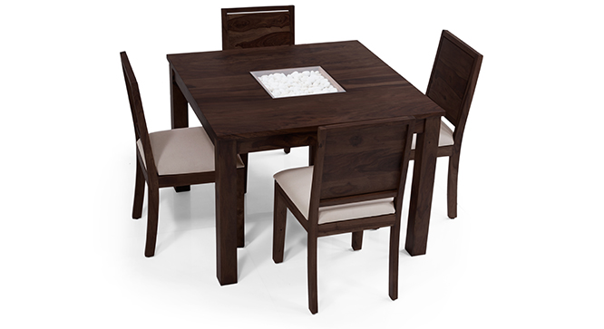 Salsia 4 Seater Dining Table Set