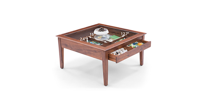Sata Display Coffee Table(Teak)