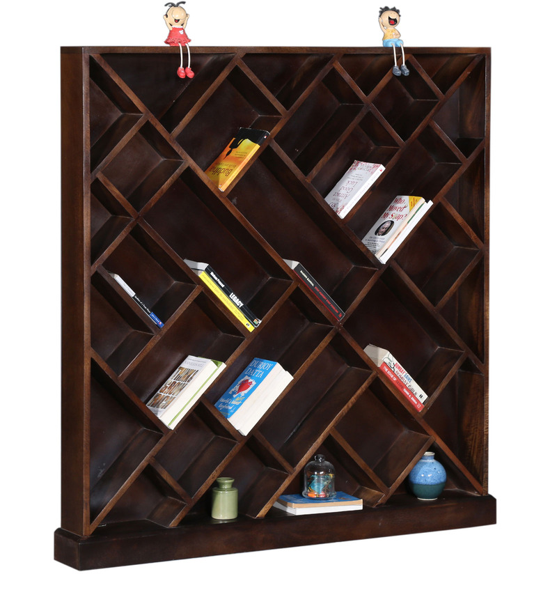 Torchem Book Shelf in Provincial Teak Finish