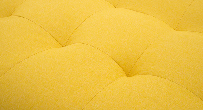 Solonic Fabric Sofa Cum Bed(Yellow)