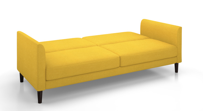 Deurocity Sofa Cum Bed(Yellow)