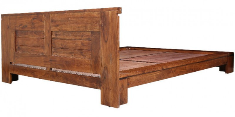 Egbert Leopold solid Wood Queen Bed