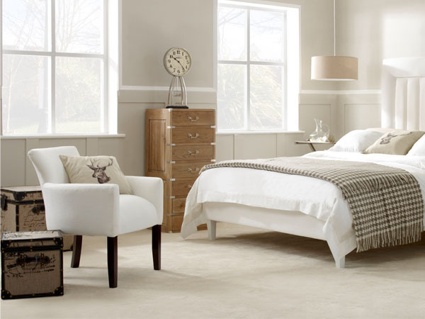 Laveder King Size Bed