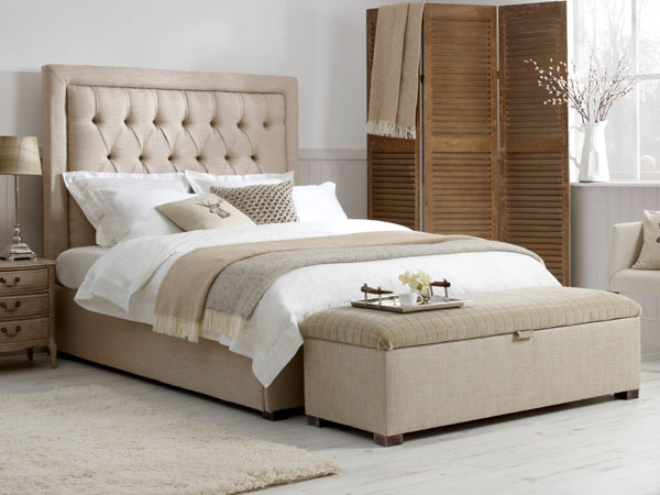 Revolution Upholstered King Size Bed