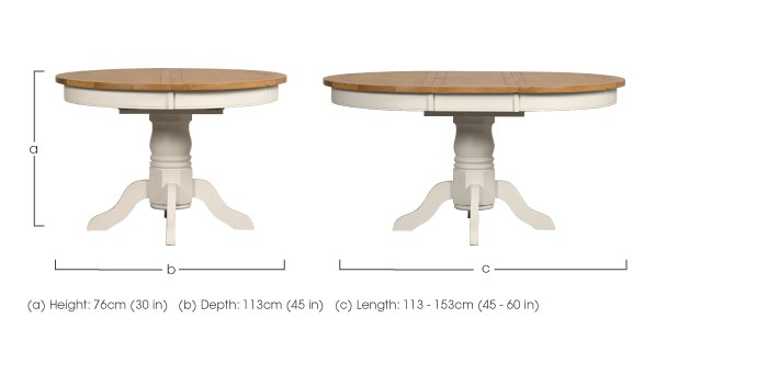 Donato 4 Seater Dining Table