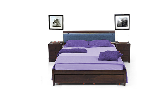 Zorzea Ezra Storage Bed Queen Size