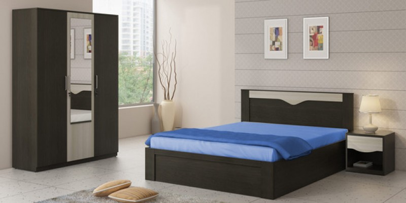 Aarayna Queen Size Bed with storage