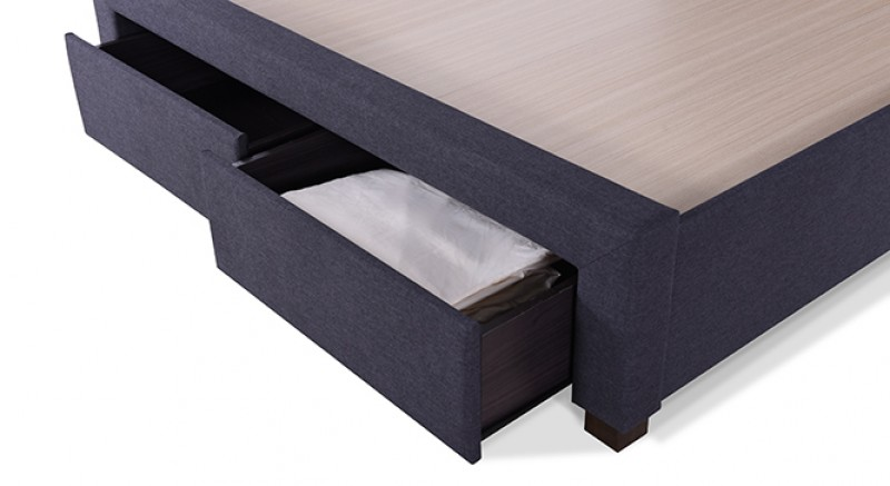 CASSI UPHOLSTERED STORAGE BED KING SIZE