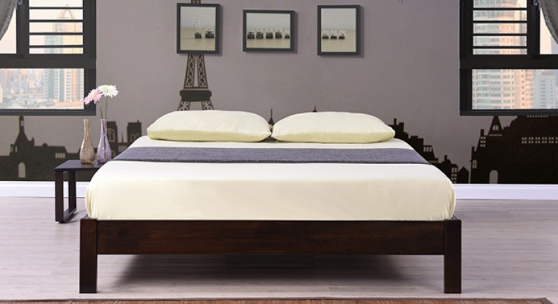 Nagano Bed and Bed Side Set