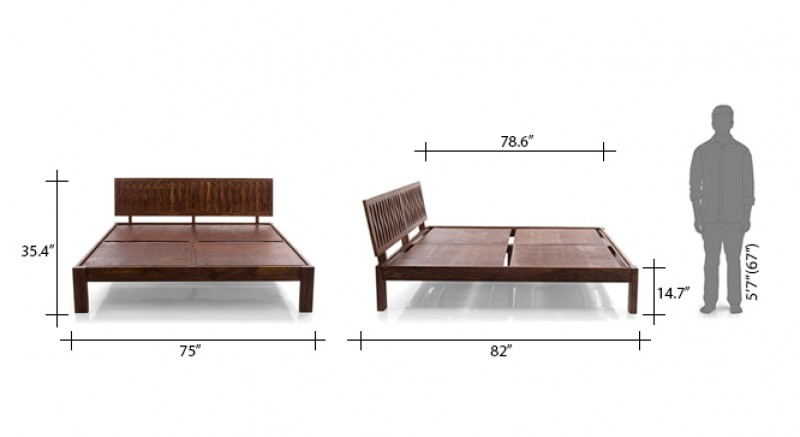 BYRON BED KING SIZE