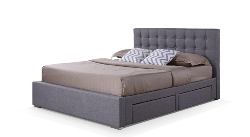 Linacre Upholstered Storage Bed Queen Size